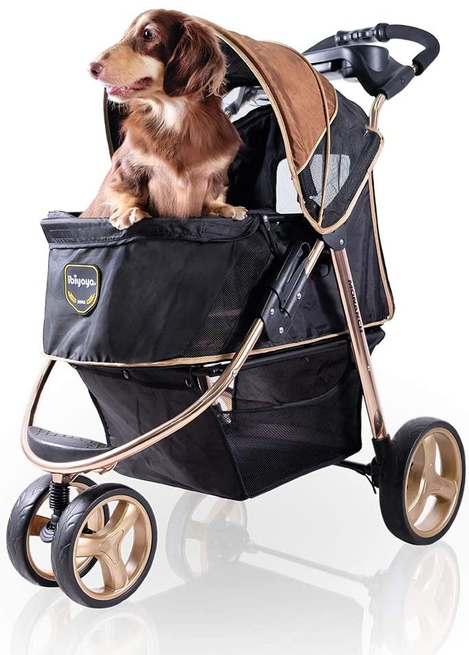 Ibiyaya 2-in-1 Pet Strollers/Bicycle review