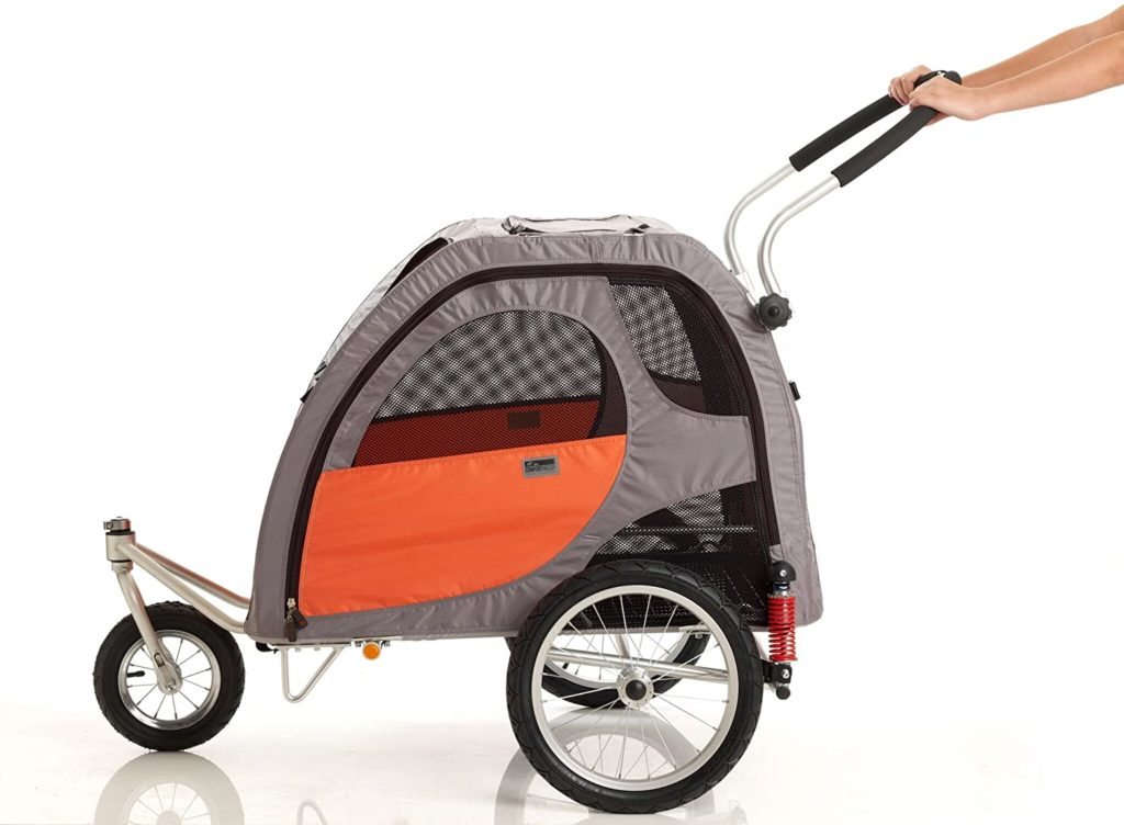 PetEgo Comfort Wagon Dog Bike Trailer review