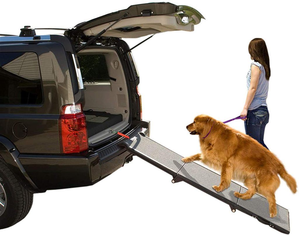 PAWLAND 2-in-1 Portable Folding Pet Stairs review