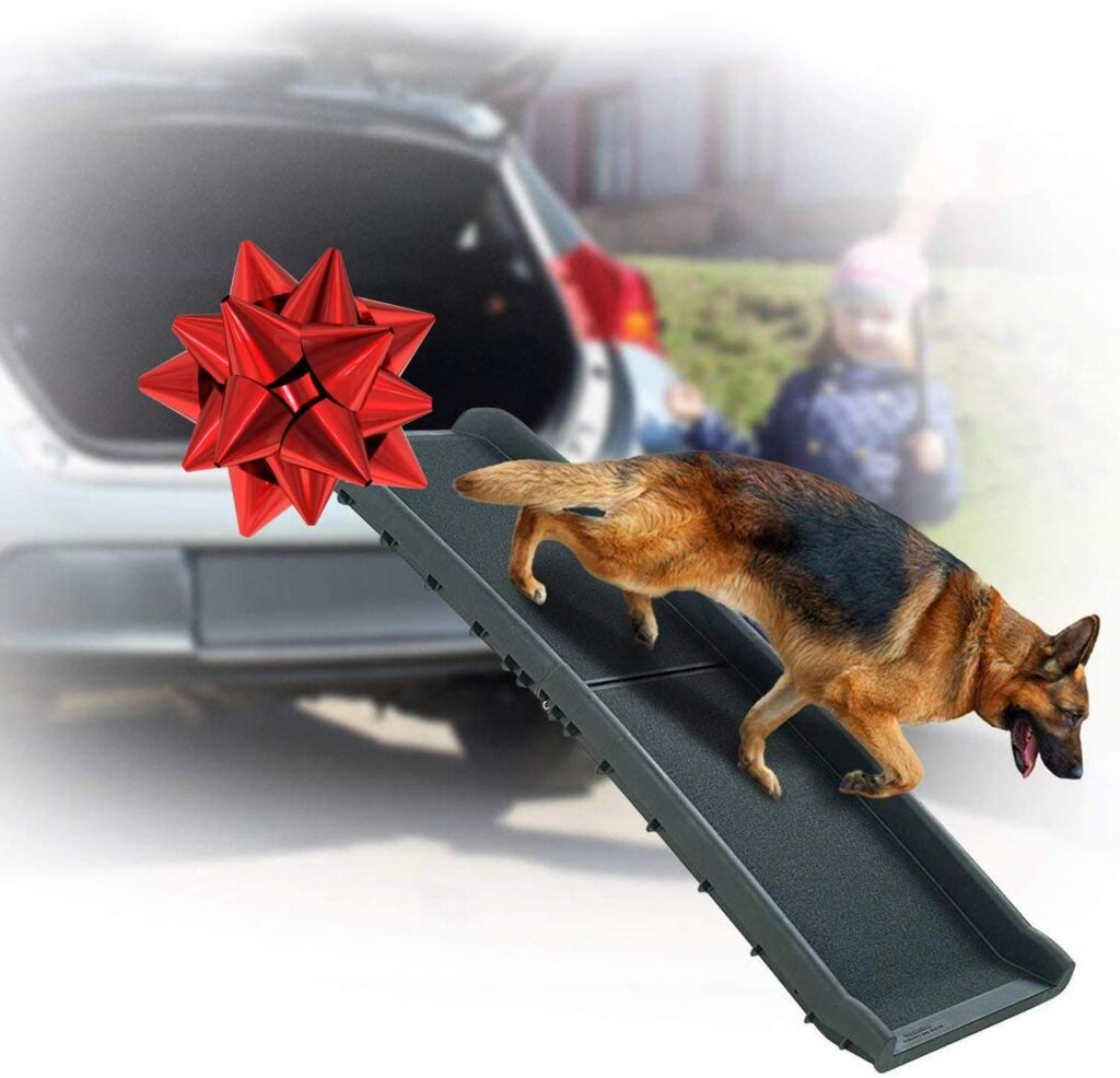 heavy duty dog ramp for large dogs
